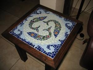 שולחן מוזאיקה