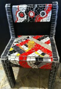 כיסא פסיפס